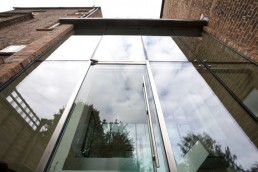 Structual Glazing to Family Home architect designed