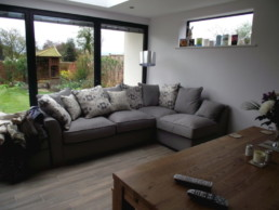 Lounge area of modern Home in York
